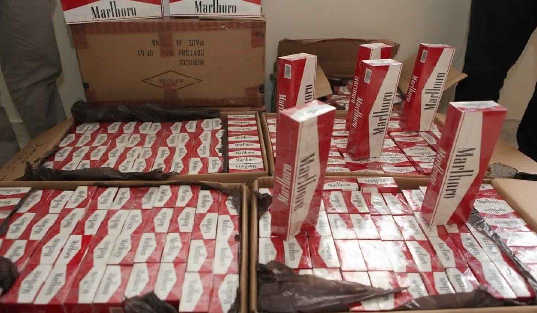 """أكادير..حجز كمية كبيرة من السجائر و""""المعسل"""""""