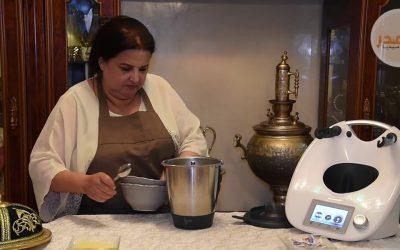 حساء القرع الأخضر بالحليب مع عائشة السعيدي