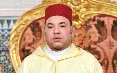 الملك محمد السادس يهنئ الشيخ خليفة بن زايد آل نهيان