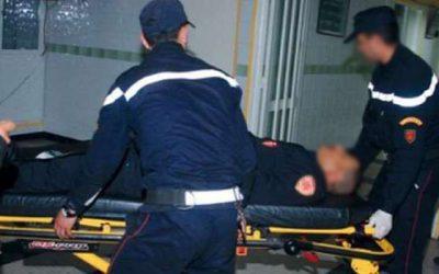 اعتقال شخص اعتدى على شرطي بواسطة السلاح الأبيض (صور)