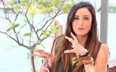أمينة خليل بطلة فيلم تامر حسني الجديد