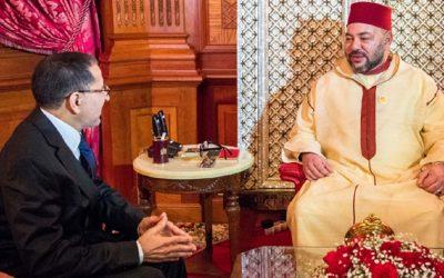 جلالة الملك محمد السادس يهنئ العثماني بعد انتخابه أمينا عاما للبيجيدي