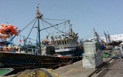 غرق مركب صيد ومصرع بحار جنوب بوجدور