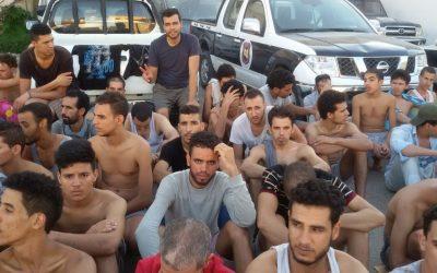 غرق أزيد من 64 مهاجرا قبالة سواحل ليبيا