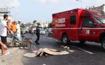 حادثة سير تودي بحياة طالب أمام كلية العلوم بمكناس + صورة