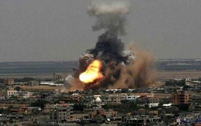 اسرائيل تقصف الفلسطينيين وإصابات خطيرة في صفوف الاطفال والنساء