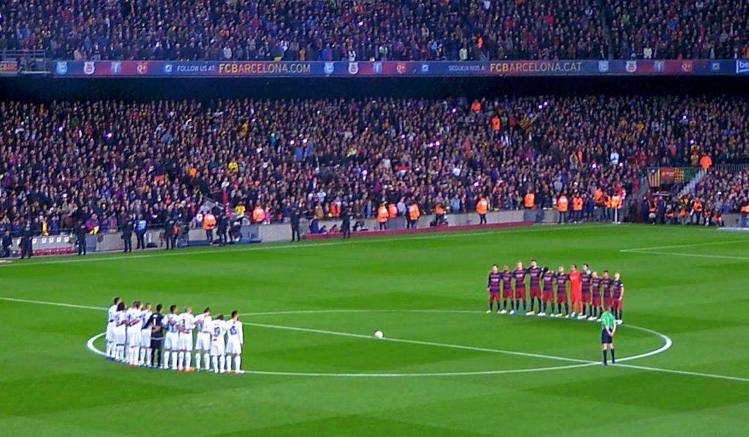 تشكيلة برشلونة أمام ريال مدريد في الكلاسيكو
