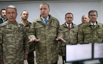 عاجل..أردوغان يبدأ حملته العسكرية ضد أكراد شمال سوريا