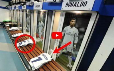 بالفيديو : هذا ماذا يحصل لقمصان اللاعبين بعد المباريات.. إليك الأسرار
