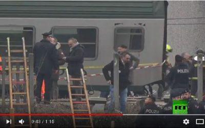 مباشر من إيطاليا.. مقتل 3 أشخاص جراء خروج قطار عن القضبان قرب مدينة ميلان