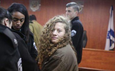 تأجيل محاكمة الطفلة عهد التميمي مجددا إلى 13 فبراير الجاري