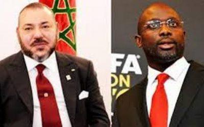 هذه تفاصيل المكالمة التي جرت بين الملك محمد السادس ورئيس ليبيريا