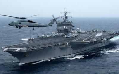 الصين ترد على إقتحام  سفينة حربية أمريكية لمياهها الإقليمية
