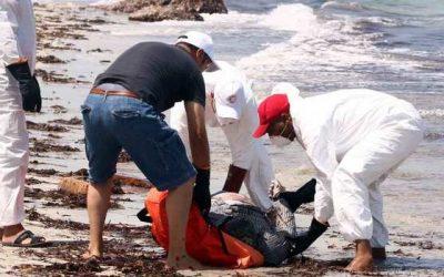 أكثر من 100 مهاجر غير شرعي يلقون حتفهم قبالة السواحل الليبية
