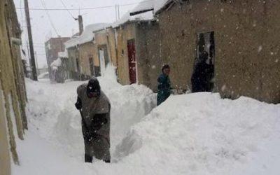 وفاة سيدة بعد انهيار سقف منزلها بسبب الثلوج بتارودانت
