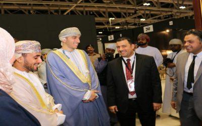 مجموعة مصانع محمد محمد الجلاد المصرية تتألق بمعرض الاثاث والديكور بمسقط