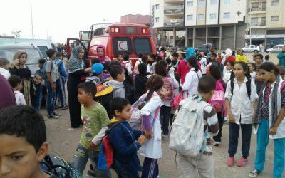 غاز البوتان يرسل 87 تلميذا للمستشفى بتازة
