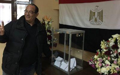 استقبال المواطنين المصريين بسفارة مصر بالرباط للتصويت في الانتخابات الرئاسية