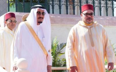 الملك محمد السادس يعزي العاهل السعودي إثر وفاة الأمير بندر بن خالد بن عبد العزيز آل سعود