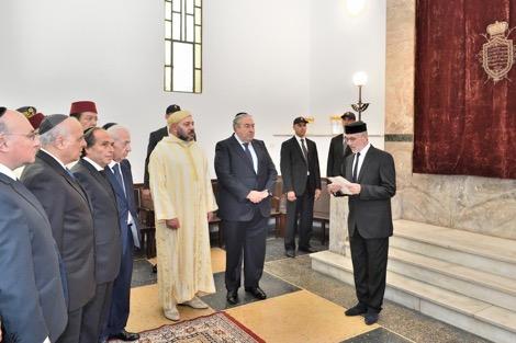 إشادة عالية بمساهمة جلالة الملك في إعادة تأهيل مقابر اليهود المغاربة في الرأس الأخضر