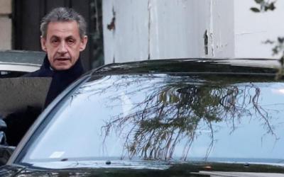 ساركوزي يمثل لليوم الثاني أمام المحققين في قضية تمويل ليبي