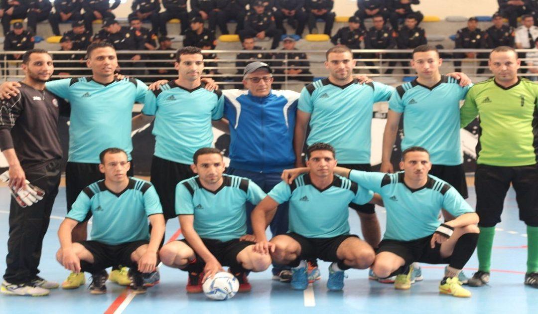 ولاية أمن العيون تنظم دوري في كرة القدم المصغرة