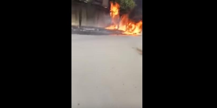 اندلاع حريق مهول داخل مرآب خاص بالدراجات النارية والهوائية بالقنيطرة