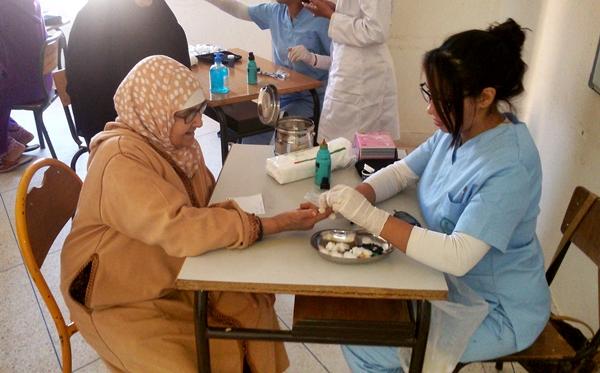 إستفادة 1500 شخص من حملة طبية بإقليم تازة