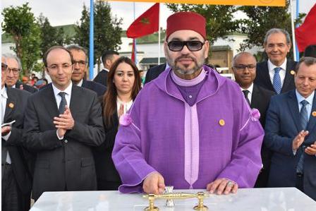الملك محمد السادس يعطي انطلاقة أشغال إنجاز مركز للعلاجات الصحية الأساسية بعين الشق بالدار البيضاء