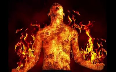 مصرع شاب أضرم النار بجسده بعد أن انفصل عن صديقته