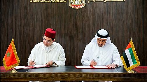 المغرب يوقع اتفاقيات تعاون مع الإمارات في عدة مجالات