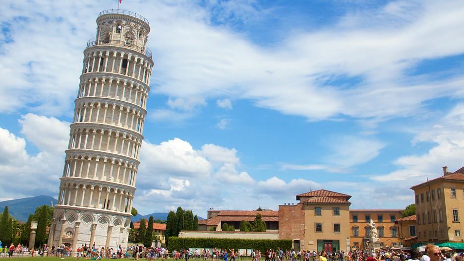 علماء يكتشفون سر برج بيزا المائل