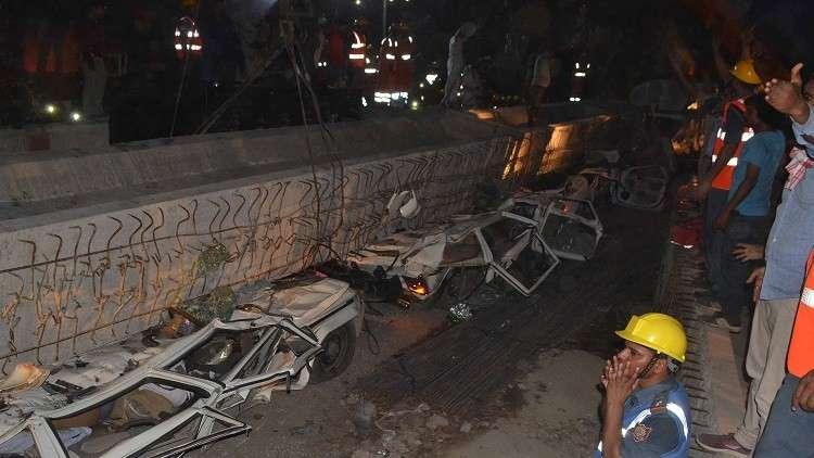 مقتل 18 شخصا جراء انهيار جسر بالهند