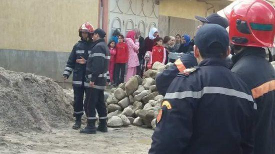 انهيار مسجد بفاس بعد صلاة الفجر