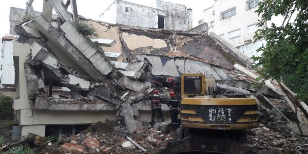 انهيار فيلا بفاس يتسبب في مقتل عامل بناء