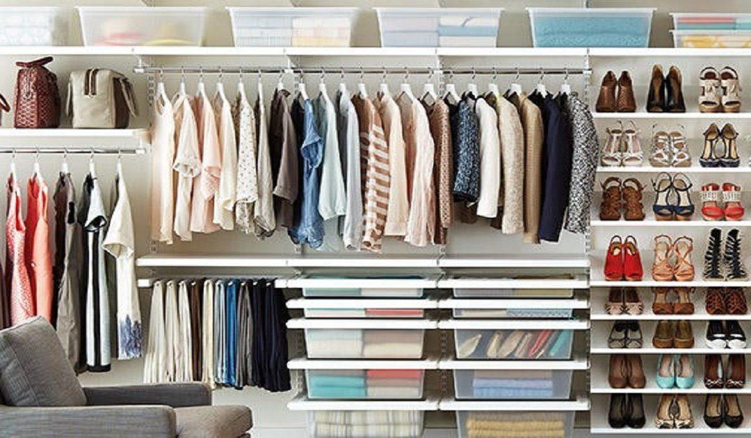 3 نصائح لتنظيم خزانة ملابسك