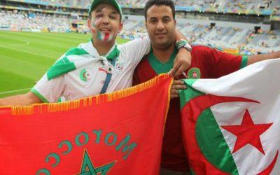"""الرياضة تصنع ما عجزت عنه السياسة..مغاربة وجزائريون يطلقون حملة """"خلي الحدود تفتح"""""""
