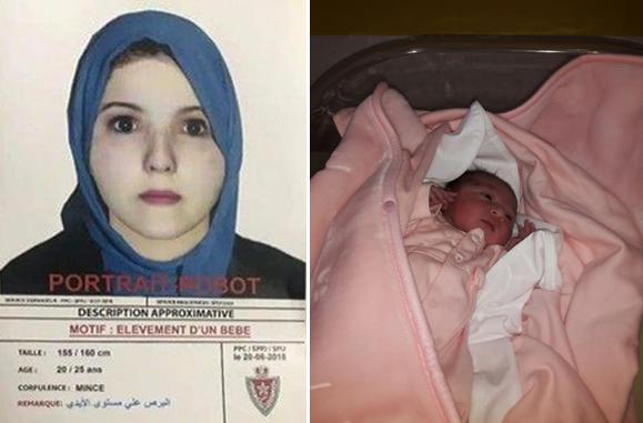 الكشف عن صورة مختطفة رضيعة مستشفى الهاروشي + صورة