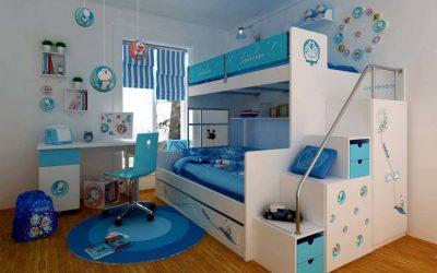 4 أفكار لترتيب غرفة الأطفال الضيقة لتظهر بشكل أكبر
