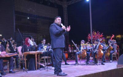 نجوم مصر في حفل افتتاح الدورة 2 للمهرجان الدولي لموسيقي الفرانكو والسياحة الترفيهية