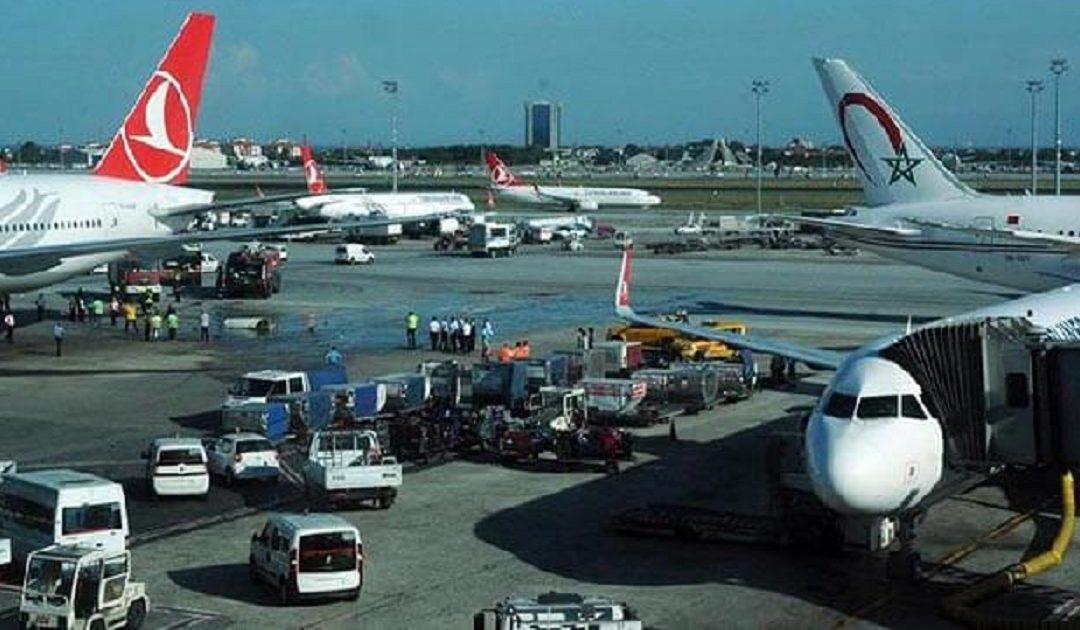 الخطوط الملكية المغربية تكشف حقيقة حادث الاصطدام بمطار أتاتورك