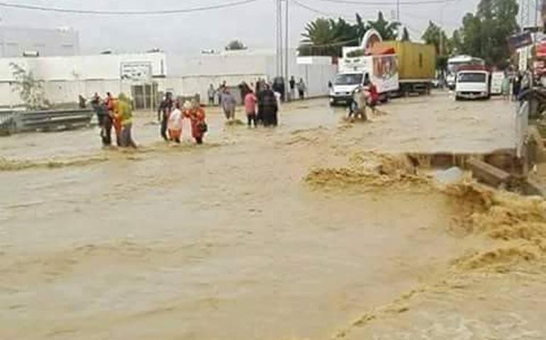 مقتل راعي غنم بعد أن جرفته المياه بإقليم الحوز