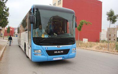 آسفي: حافلات نقل حضري جديدة تنهي العمل بنظام الوكالة