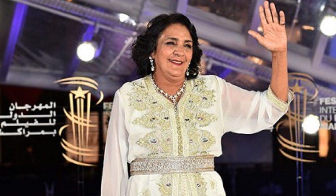 """الممثلة المغربية """"راوية"""" تعتز بتكريمها في الدورة الـ34 لمهرجان الإسكندرية بمصر"""