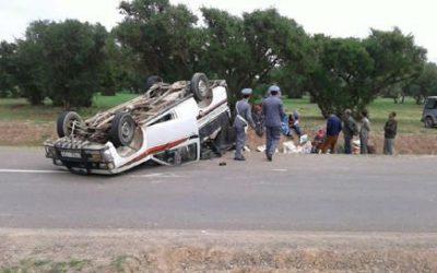 مصرع شخصين في حادثة سير خطيرة