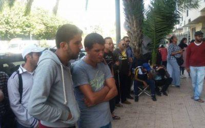 عااااجل : مصرع أحد المكفوفين المعتصمين في وزارة بسيمة الحقاوي