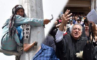 """زيان للمصدر ميديا: """"مي عيشة"""" اعتصمت من جديد للفت الانتباه إلى قضيتها"""