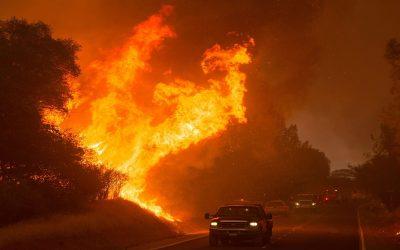 عاجل : حريق بمرآب بالعيون