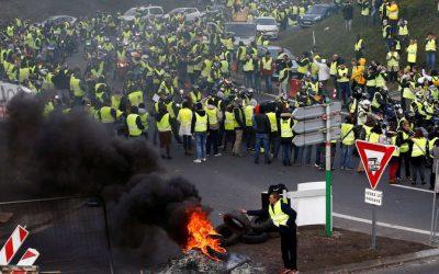 إستمرار احتجاجات فرنسا