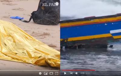"مياه بحر""قاديس"" تلفظ جثت 4 مغاربة (+فيديو)"